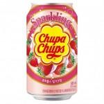 Chupa Chups Strawberry Cream 345ml x 24