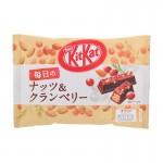 Kit Kat Luxury Chocolat au lait, amandes et cranberries 109 Gr x 1