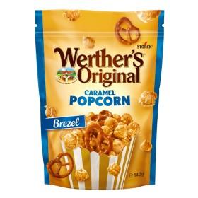 Pop Corn & Bretzel Werther's Original 140 Gr x 12