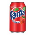 Fanta Strawberry 355ml x 12
