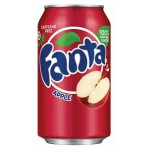 Fanta Apple 355ml x 12