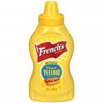 French's american Mustard 218ml x 8