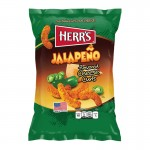 Herr's Jalapeno Cheese Curls 198 Gr x 12