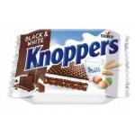 Knoppers crispy black waffle 25 Gr x 24