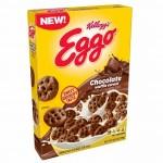 Céréales Kellog's Eggo Waffle Chocolat 249 Gr x 10