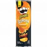 Pringles Scorchin' Cheddar 158 Gr x 14