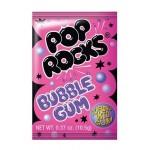 Pop Rocks Sucre pétillant Bubble Gum 10,5 Gr x 24