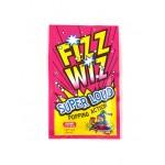 Fizz Wiz Sucre pétillant goût Fraise - 4,9 Gr x 50